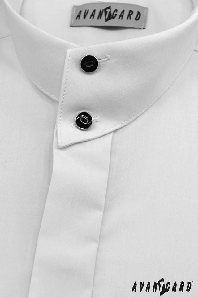 Pánská košile se stojáčkem ... 62ceee8613